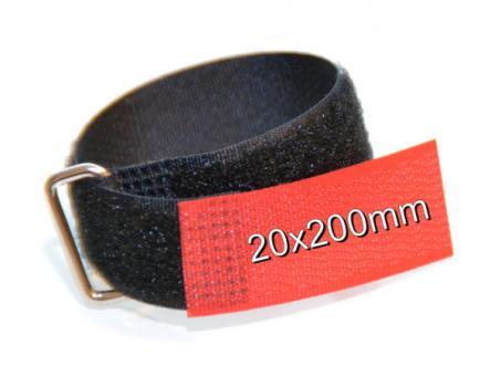 Klett Kabelbinder zur Festmontage 20x200mm