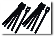Klett Kabelbinder Stanzlinge