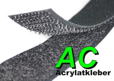 5m Klettband selbstklebend ACRYLAT