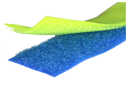 25m Klettband Farbig