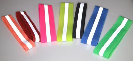 Reflektierendes Signal Klettband